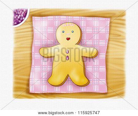 Ginger bread boy