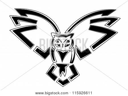 Owl emblem