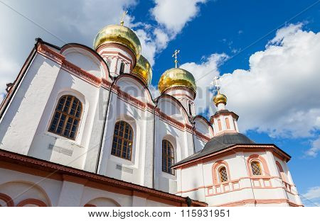 Cathedral Of The Assumption Of The Blessed Virgin Mary In The Valday Iversky Monastery, Russia
