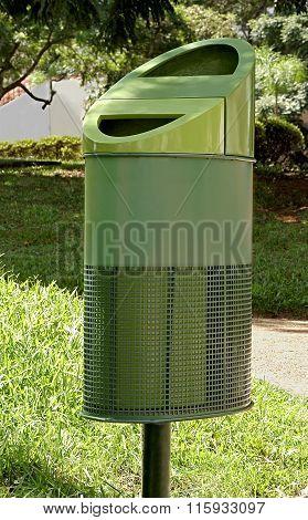 Trash in Curitiba Park
