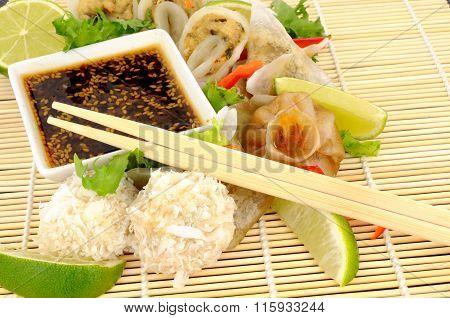 Cantonese Steamed Dim Sum Snacks