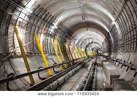 Construction Of The Subway
