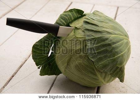 Cutting Cabbage