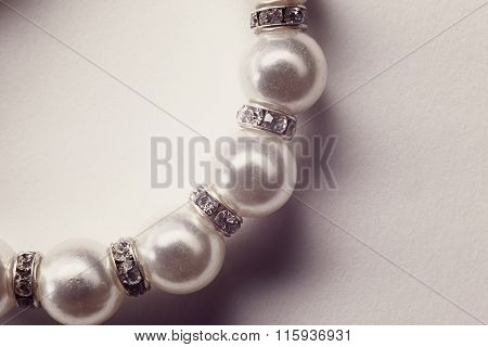 Fake Pearls As Jewelry