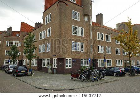 Amsterdam School Corner Building