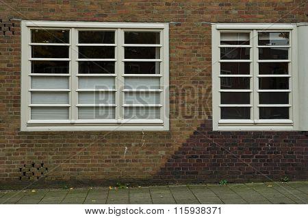 Amsterdam School Windows