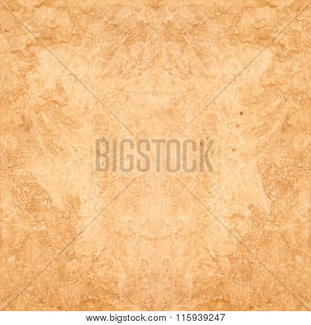 Texture Of The Old Brown Crumpled Paper