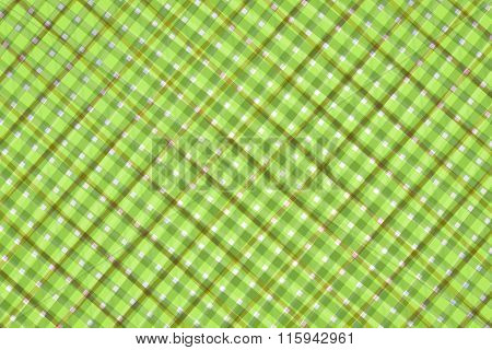 Green And Brown Computer Generated Abstract Geometric Pattern