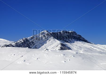 Winter Snowy Mountains