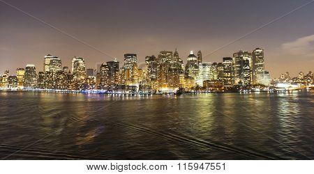 Financial District Cityscape