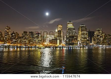 Financial District In New York