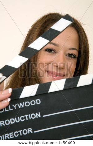 Filmklappe Mädchen
