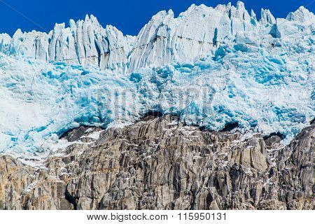Edge Of The Harding Icefield