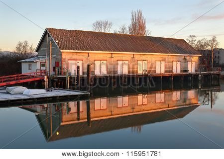 Scotch Pond Net Shed, Steveston, BC