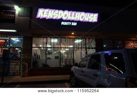 Ken's Dollhouse Beauty Bar