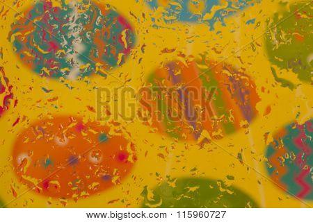 Colorful Easter Egg Background Image