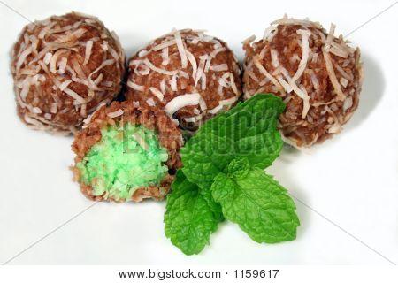 Mint Coconut Roughs