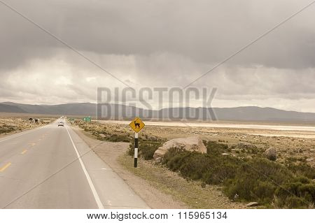 Peruvian Roadway Outdoors