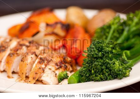 Farm Fresh Roast Chicken Dinner