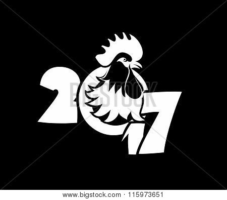 Year Of The Rooster Logo