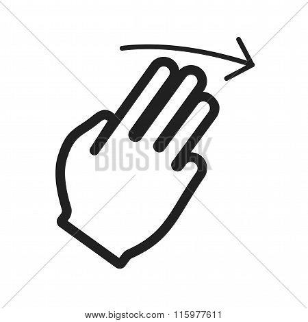 Three Fingers Right