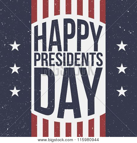 Happy Presidents Day patriotic Background