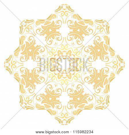 Oriental Abstract Pattern