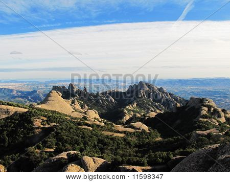 Panorama Mountain, Mont Serrat