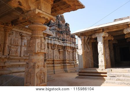 Krishna's temple in Hampi