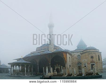 The Mevlana Museum In Winter