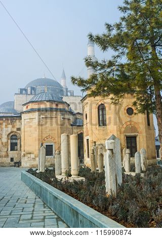 The Yard Of Mevlana Museum