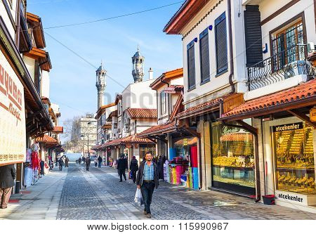 The Golden Street Of Konya