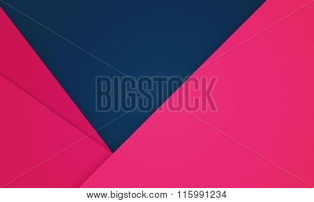 Modern creative horisontal colorful paper-like material design background