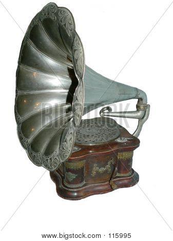 Antique Gramophone poster