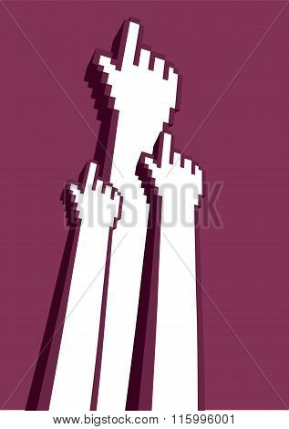 Digital Revolution Vector Illustration