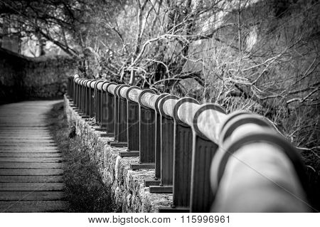 Handrail In Perspective