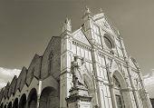 pic of alighieri  - Basilica of Santa Croce  - JPG