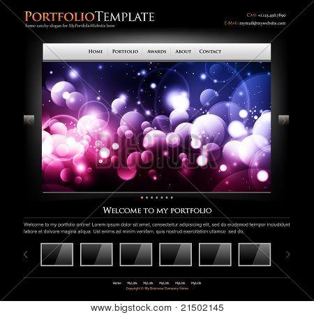 Sitio web moderno