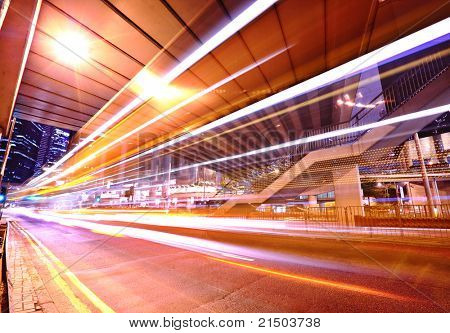 traffic in mega city