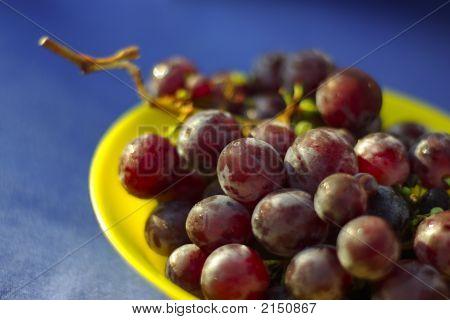 Roten Trauben