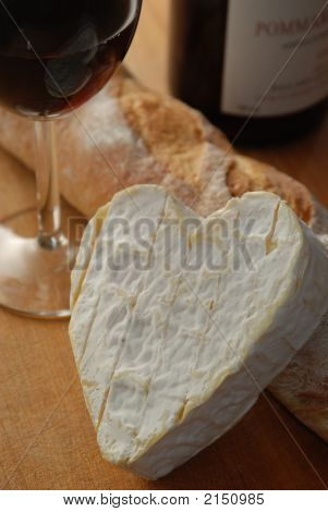 Bread And Cheese Married To Wine