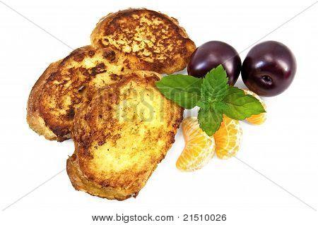 Toast With Tangerine And Plum