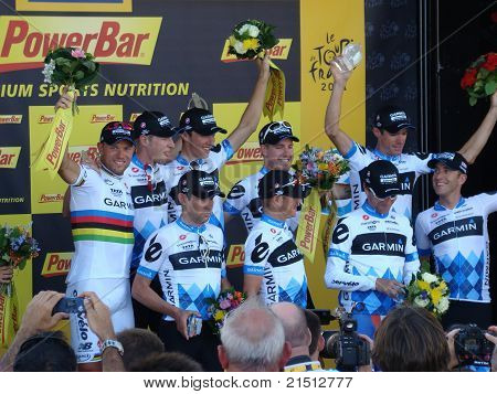The Tour de France - Stage 2 2011