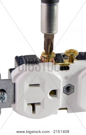 Wiring Outlet On White