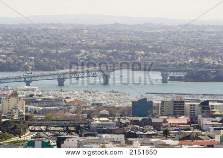 Auckland New Zealand Harbour Bridge