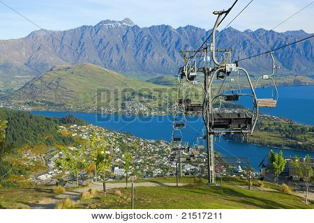 Above Queenstown