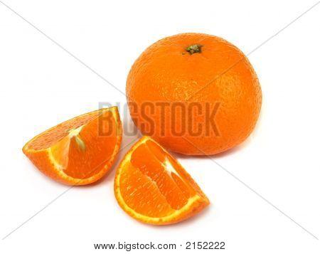 Lobules Of Tangerine