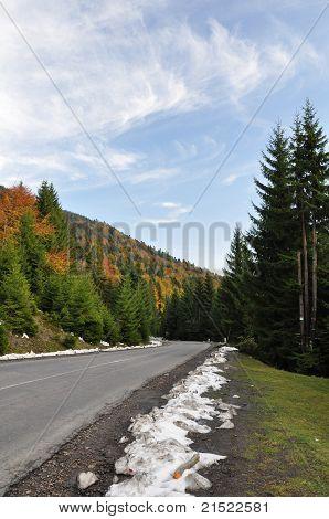 Carpathian Road, Ukraine