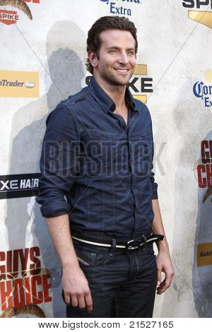 "LOS ANGELES - JUN 5: Bradley Cooper at the Spike TV's 4th Annual ""Guys Choice Awards"" at Sony Studios in Culver City, Los Angeles, California on June 5, 2010"