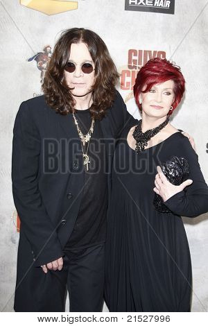 "LOS ANGELES - JUN 5: Ozzy Osbourne, Sharon Osbourne at the Spike TV's 4th Annual ""Guys Choice Awards"" at Sony Studios in Culver City, Los Angeles, California on June 05, 2010"